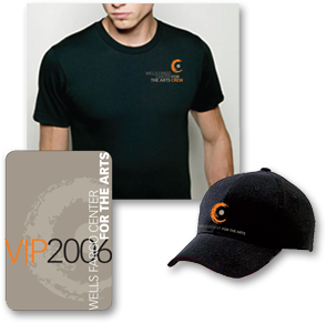 29c7c21ccd3980 Portfolio - Wells Fargo Center for the Arts - VIP Card and Apparel ...